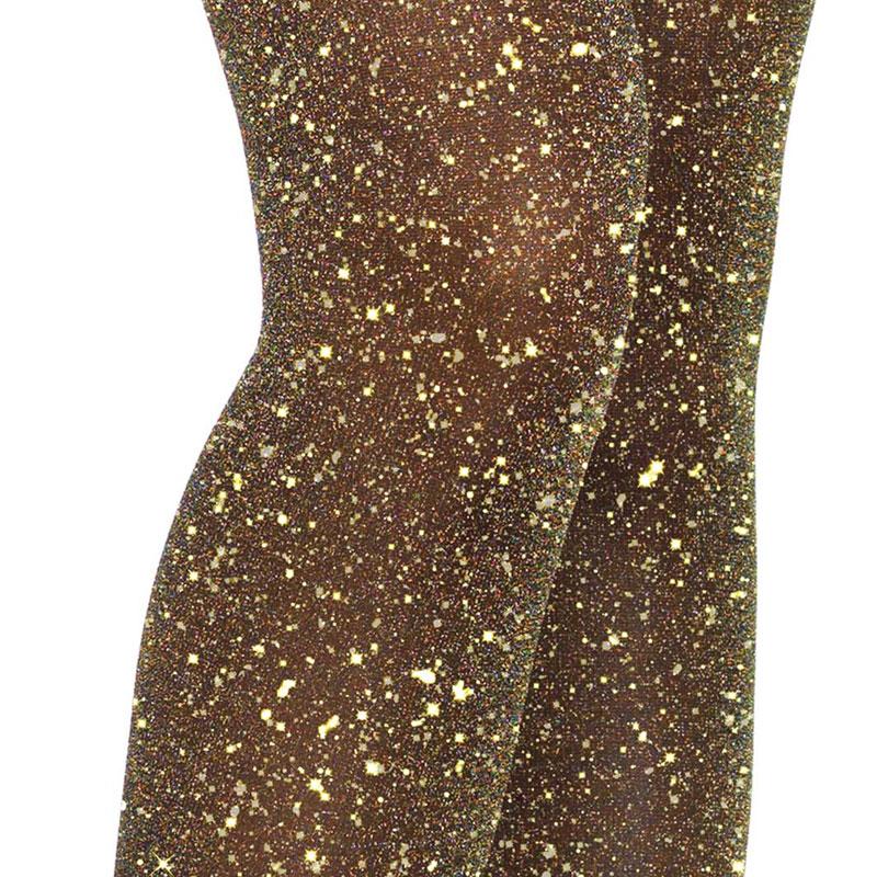 goud glitter panty