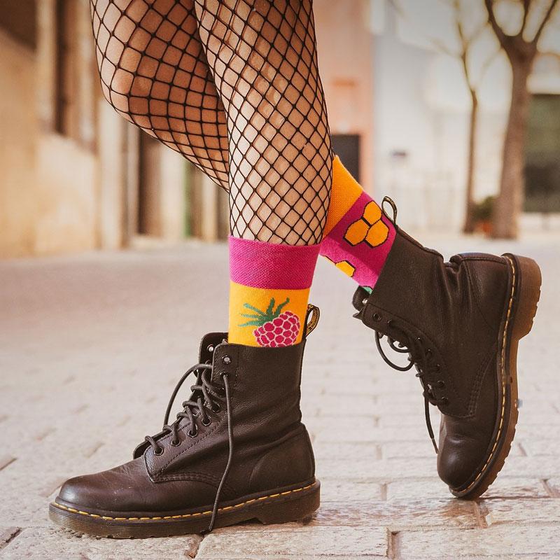 Mismatched sokken