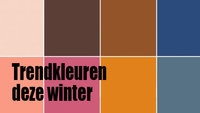 Trendkleuren deze Winter