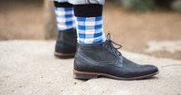 Heren, laat je sokken zien!