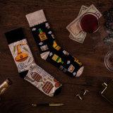 Mismatched Sokken Whiskey_