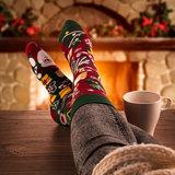 Mismatched Sokken Kerstmis_