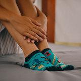 Mismatched Sneaker Sokken Fitness_
