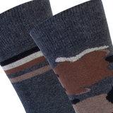 Sokken 2-pack Dick Cotton Antraciet_