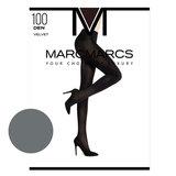 Panty Basic 100 Denier Velvet Opaque Grey Melange_