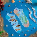 Mismatched Sneaker Sokken Aquarium_
