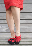 Sneaker Footie Ladybird_