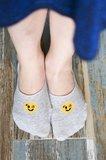 Sneaker Footie Kids Smile Licht Grijs_