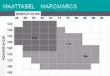 Maillot Marc Marcs Tresse in Zwart_