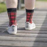 Sokken Tintl Scotty Rood & Zwart_