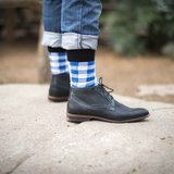 Sokken Tintl Scotty Blauw & Wit_