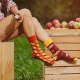 Mismatched Sokken Apple Pie_