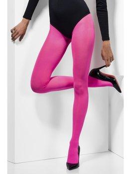 Panty Uni Nylon Opaque Pink