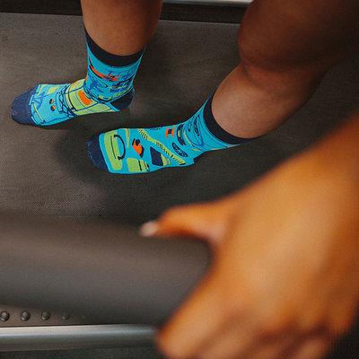 Mismatched Sokken Fitness