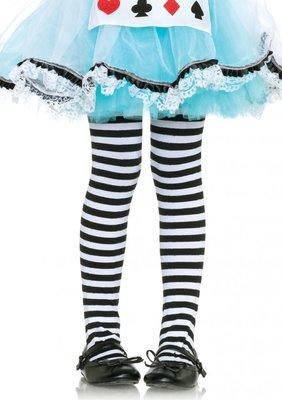 Kinderpanty Streep Zwart/Wit