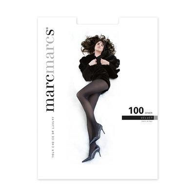 Panty Basic 100 Denier Velvet Opaque Zwart