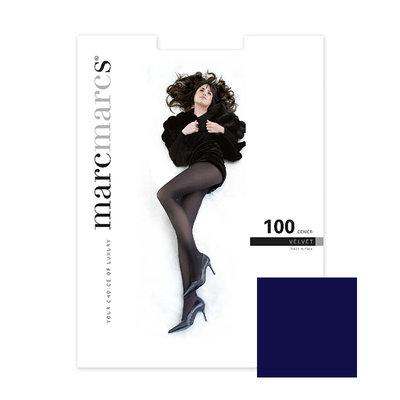 Panty Basics 100 Denier Velvet Opaque Marine