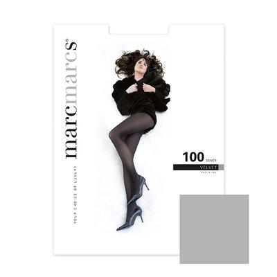 Panty Basics 100 Denier Velvet Opaque Grey Melange
