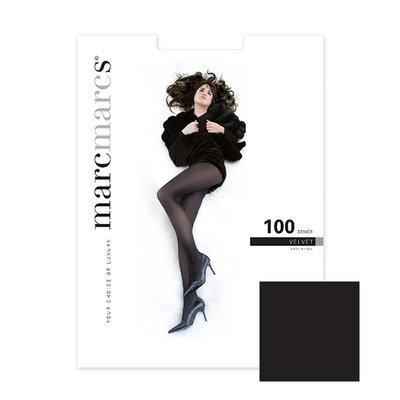 Panty Basics 100 Denier Velvet Opaque Zwart