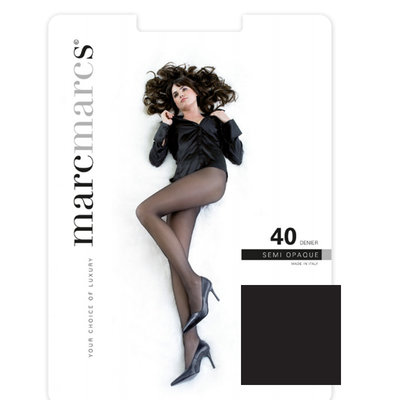 Panty Basic 40 Denier Semi Opaque Zwart