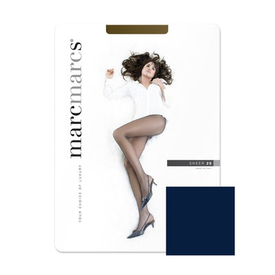 Panty Basic 20 Denier Sheer Navy