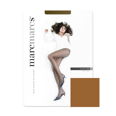 Panty Basic 20 Denier Sheer Muscat