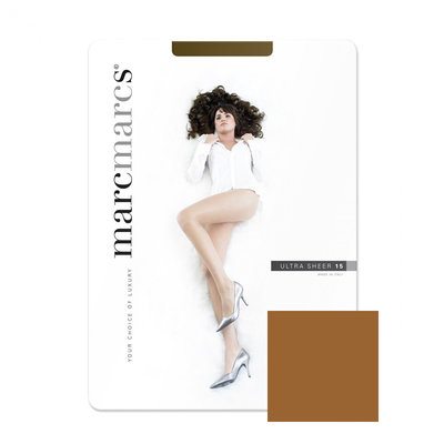 Panty Basic 15 Denier Ultra Sheer Muscat