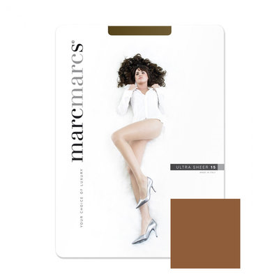 Panty Basic 15 Denier Ultra Sheer Chestnut