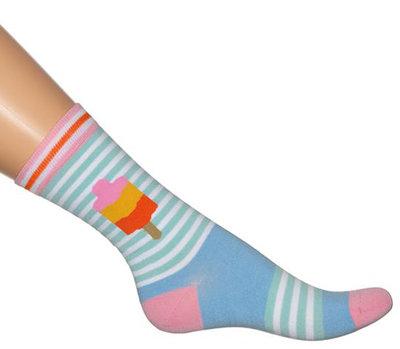 Bonnie Doon IJsjes sokken Sky Blue