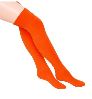Kousen Overknee Uni Neon Oranje