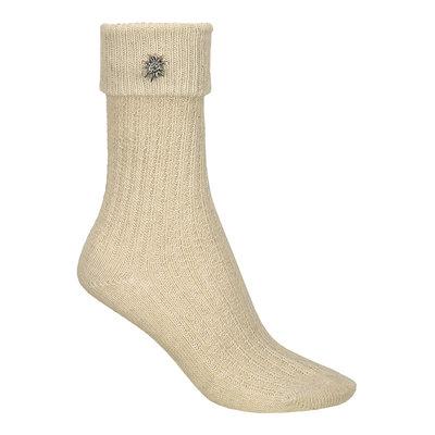 *Tiroler Sokken Kort Deluxe Naturel