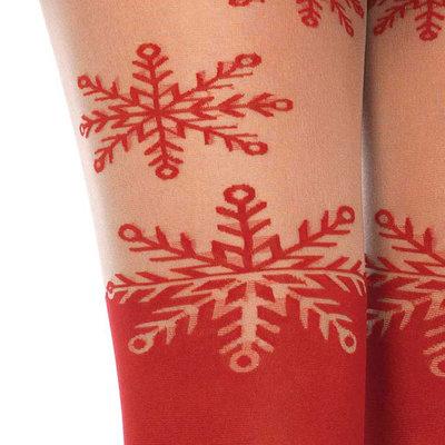 Panty Fantasy Sneeuwvlok Kerst