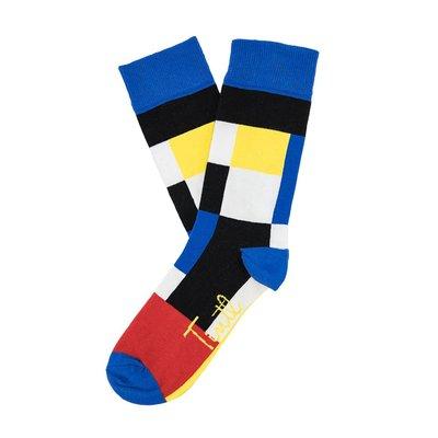 Sokken Tintl Art Mondriaan