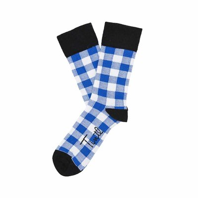 Sokken Tintl Scotty Blauw & Wit