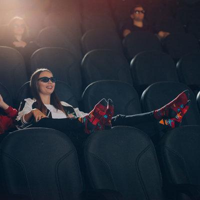 Mismatched Sokken Cinema