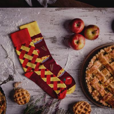 Mismatched Sokken Apple Pie