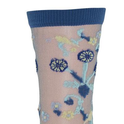 Sokken Dames Augusta in Nachtblauw