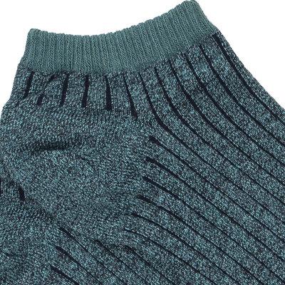Sneakersok Jack in Groen Zwart
