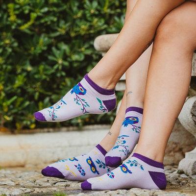 Mismatched Sneaker Sokken Owl