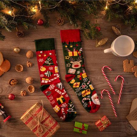 Mismatched Sokken Kerstmis
