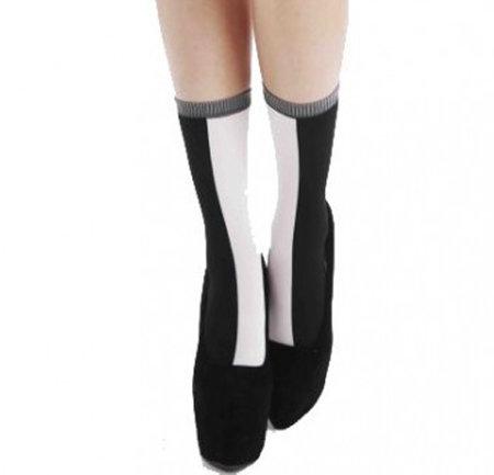Sok Panty Zwart Wit