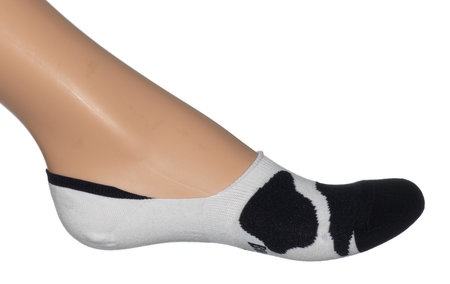 Sneaker Footie Cow Off White