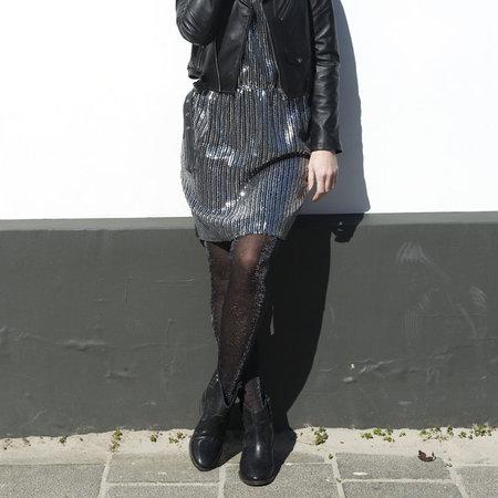 Panty Glittering in Zwart