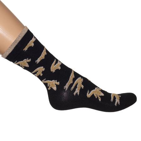 Sokken Crocodile Zwart