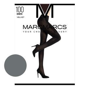 Panty Basic 100 Denier Velvet Opaque Grey Melange