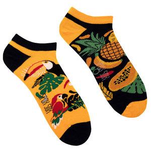Mismatched Sneaker Sokken Tropical