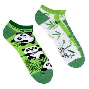 Mismatched Sneaker Sokken Panda