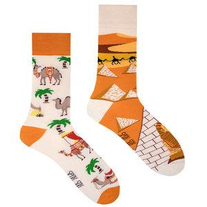Mismatched Sokken Kameel uit Egypte