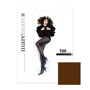 Panty Basics 100 Denier Velvet Opaque Brown
