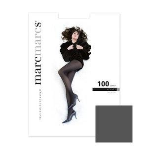 Panty Basics 100 Denier Velvet Opaque Antraciet Melange